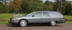 staatsierouwauto wordt ingezet bij een eenvoudig afscheid voor een technische crematie